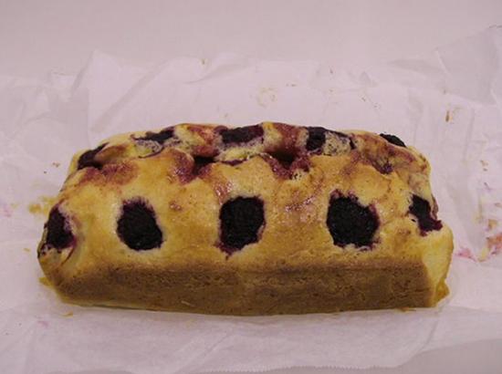 2種のベリーのパウンドケーキ