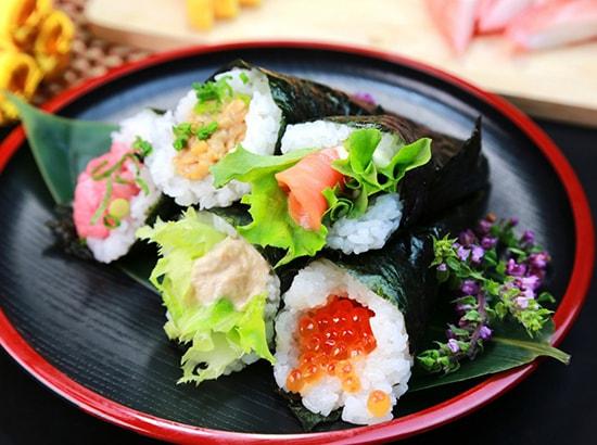 カリフラ手巻き寿司